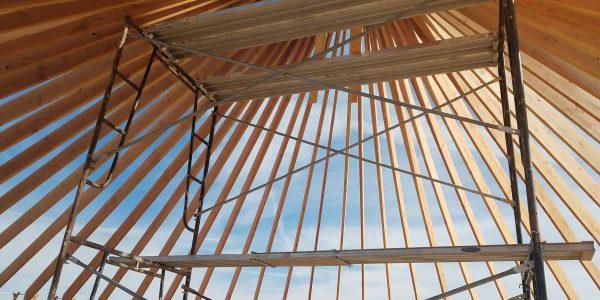 yurt construction