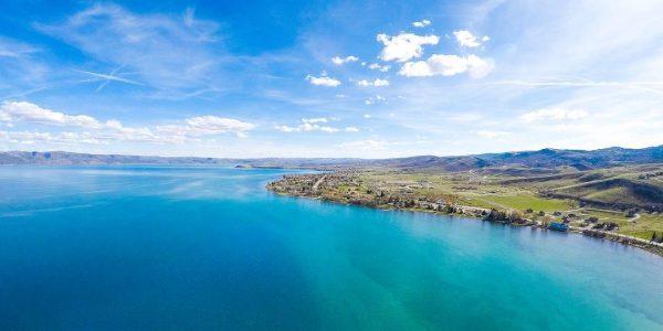 bear lake aerial