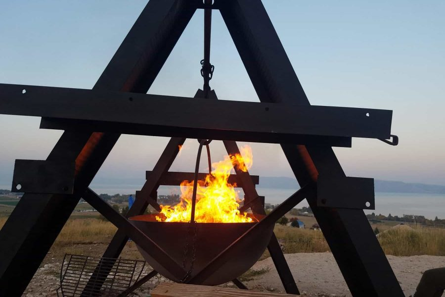 Fire Cauldron-Gathering Platform